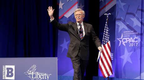 المستشار الامن القومي الجديد الأمريكي جون بولتون