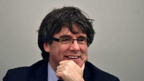 الرئيس السابق لحكومة كتالونيا، كارليس بوتشديمون