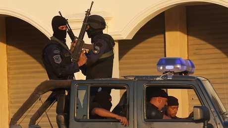 عناصر من الشرطة المصرية