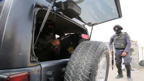عناصر من الشرطة المصرية - أرشيف -