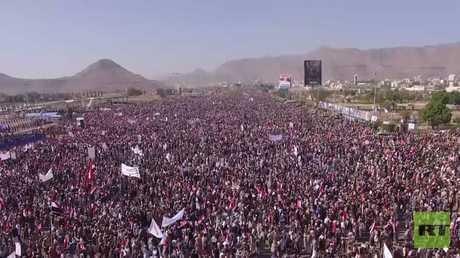 صنعاء.. مظاهرات في الذكرى الثالثة للحرب