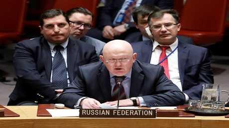 مندوب روسيا لدى الأمم المتحدة فاسيلي نيبنزيا