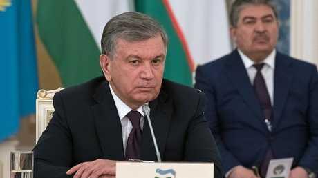 رئيس أوزبيكستان شوكت ميرزيايف