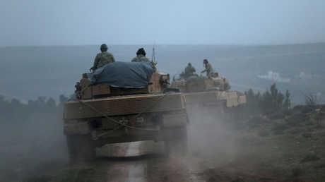 قوات الجيش التركي في عفرين