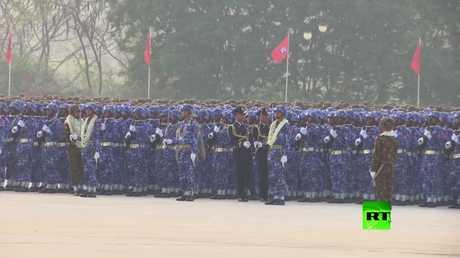 عرض عسكري في ميانمار بمشاركة 11 ألف جندي
