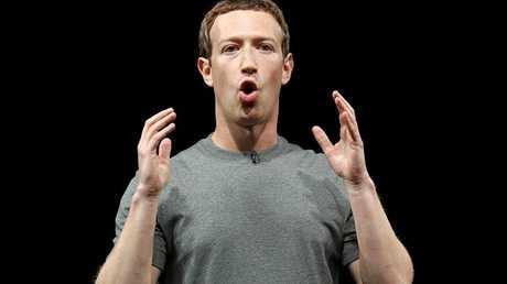 """مالك ومؤسس موقع التواصل الاجتماعي """"فيسبوك"""" مارك زوكربيرغ"""