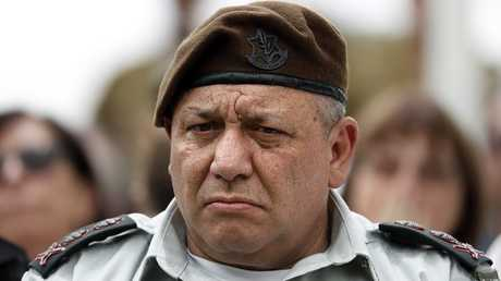 رئيس هيئة الأركان الإسرائيلية غادي أيزنكوت