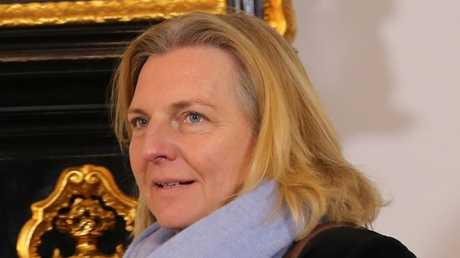وزيرة الخارجية النمساوية كارين كنايسل