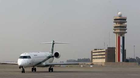 بغداد تمنع طائرة مصرية من الهبوط