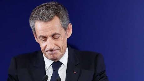 الرئيس الفرنسي الأسبق نيكولاي ساركوزي