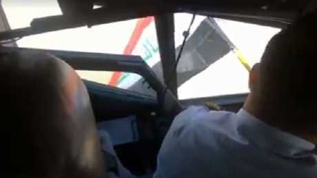 هبوط طائرة الخطوط الجوية العراقية في مطار الرياض الدولي