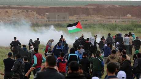الجيش الإسرائيلي يقمع مسيرات يوم الأرض في الضفة وغزة