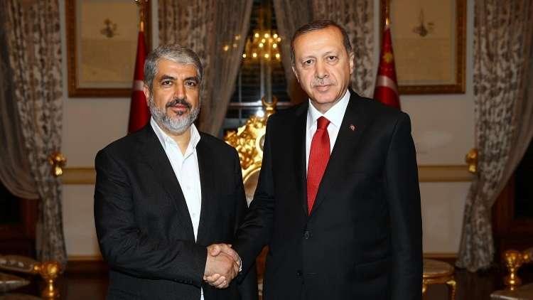 خالد مشعل يشيد بسيطرة الأتراك على عفرين