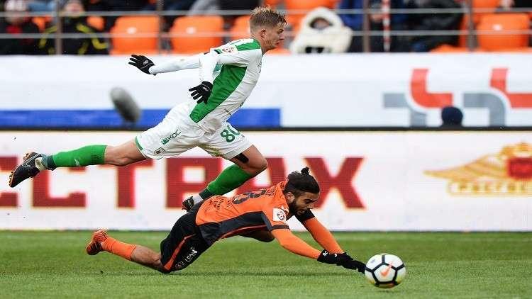 أورال وروبين يتعادلان في افتتاح ملعب يكاتيرينبورغ استعدادا للمونديال