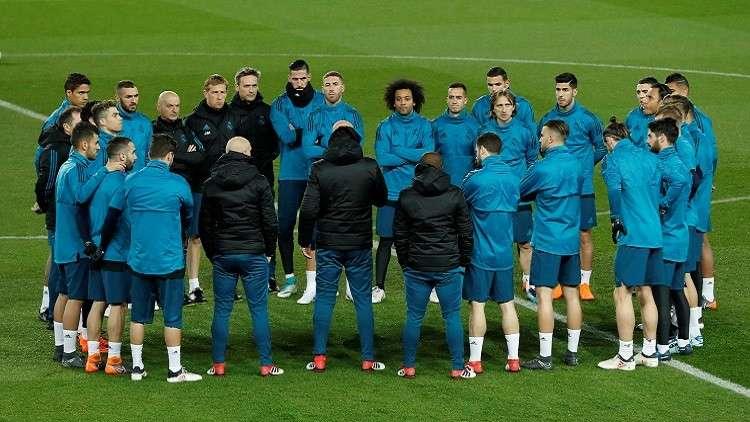 زيدان يكشف قائمة ريال مدريد لمواجهة يوفنتوس