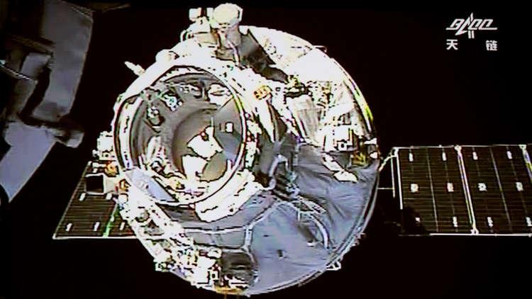 احتراق محطة الفضاء الصينية فوق المحيط الهادئ