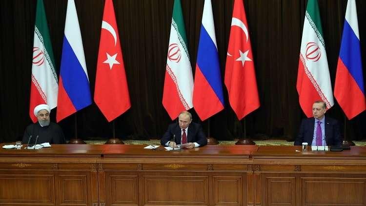 مساعد بوتين: القمة الروسية التركية الإيرانية ستؤكد دعم سيادة سوريا