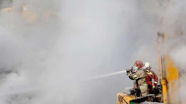مقتل 10 أشخاص بحريق في الأهواز الإيرانية
