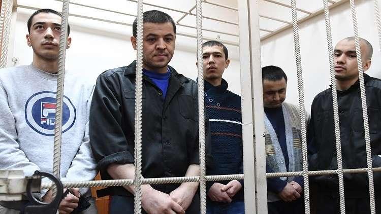 المتهمون في قضية تفجير مترو بطرسبورغ