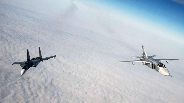 بدء تدريبات الطيران التابع لأسطول البحر الأسود الروسي