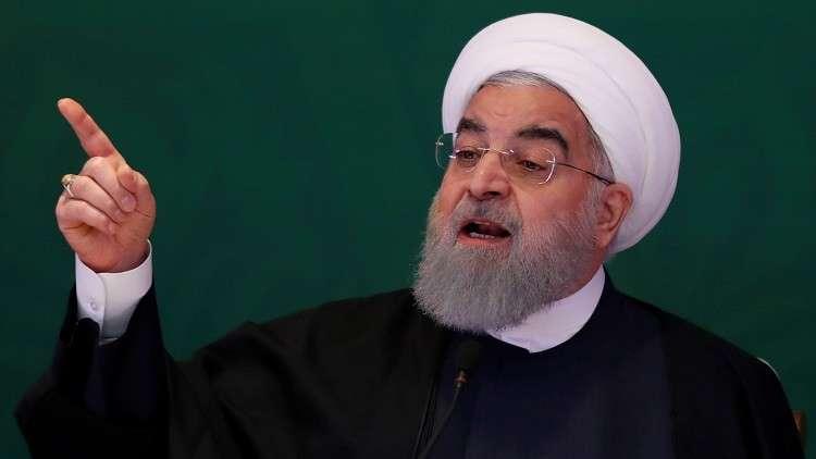 روحاني: أمريكا وإسرائيل تتدخلان في شؤون سوريا