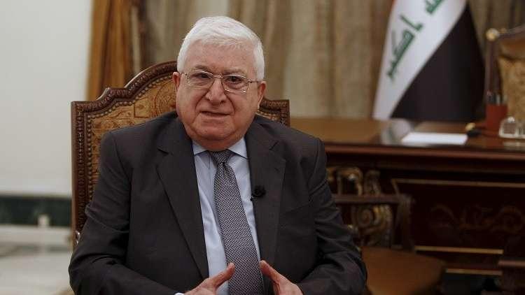 الرئيس العراقي: نخشى تكرار السيناريو التركي في مدينة سنجار