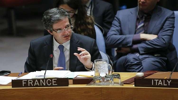 مندوب فرنسا يرد على قمة أنقرة: جنيف المحفل الوحيد للحل في سوريا