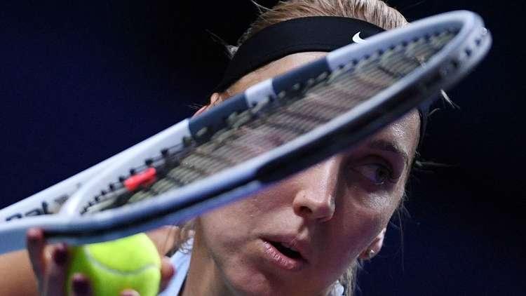 الروسية فيسنينا تعبر إلى ثالث أدوار بطولة شارلستون