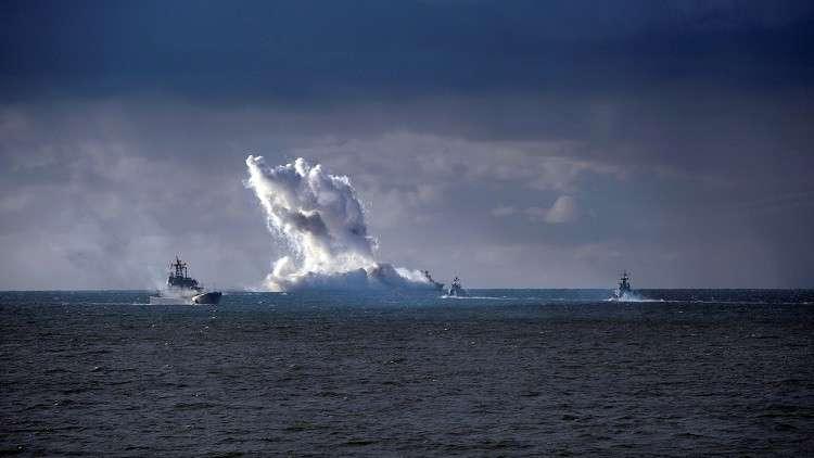 الناتو يراقب عن كثب تدريبات بحرية روسية في البلطيق