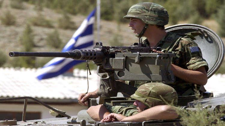 اليونان تحشد قواتها على الحدود التركية