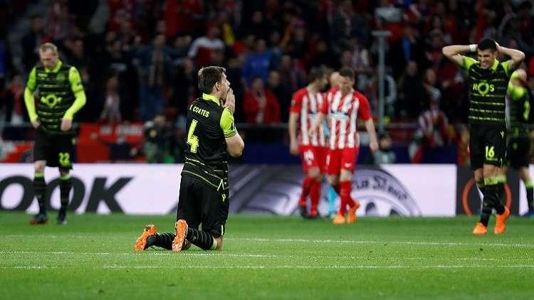 أتلتيكو مدريد يكرم ضيفه سبورتينغ لشبونة بثنائية (فيديو)