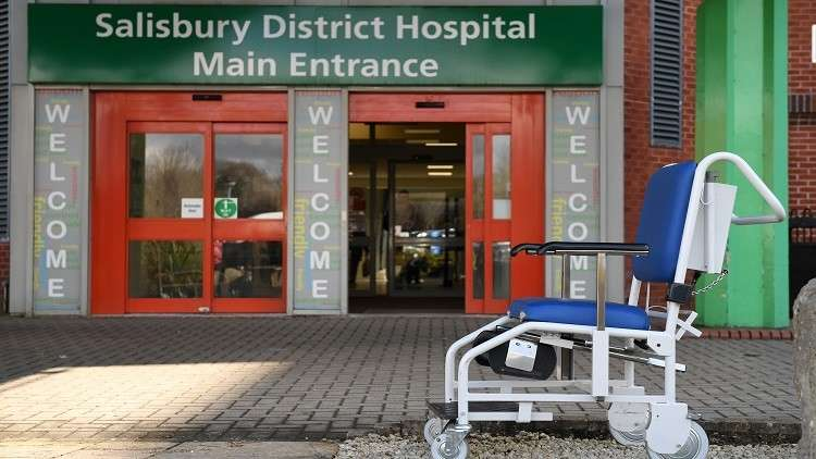 مستشفى سالزبوري في بريطانيا: سيرغي سكريبال خرج من حالته الصحية الحرجة