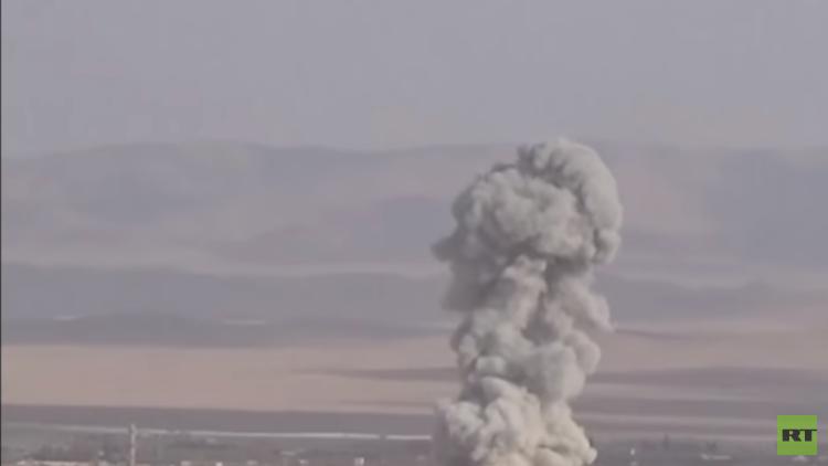 طائرات حربية سورية تستأنف قصف دوما ردا على نيران