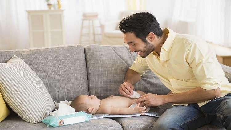مناديل الأطفال المبللة تسبب أحد أخطر أنواع الحساسية