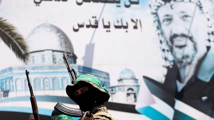 حماس: نسير على نهج الشهيد ياسر عرفات