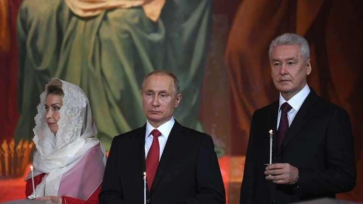بوتين يهنئ المسيحيين الأرثوذكس بعيد الفصح المجيد