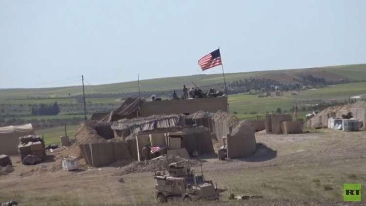 قاعدة عسكرية أمريكية في شمال سوريا