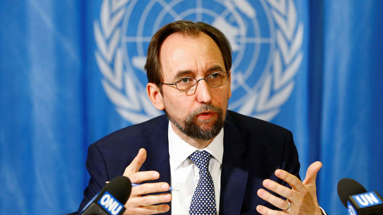 الأمير زيد يهاجم المجتمع الدولي لسلبيته إزاء استخدام الكيميائي في سوريا