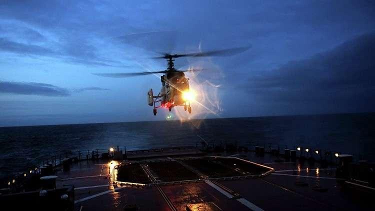 البحرية الروسية تتسلم مروحية بحرية واعدة