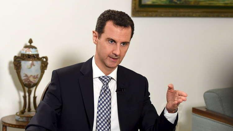 الأسد يستقبل مجموعة أهالي مخطوفين لم يجدوا أبناءهم بين من تم تحريرهم من دوما