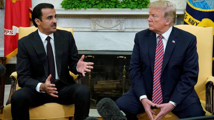 أمير قطر: ترامب شارك شخصيا في حل الأزمة الخيليجية ومكافحة الإرهاب تنطلق من قاعدة العديد