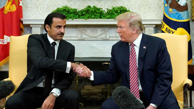 أمير قطر: توصلنا لتوافق مع ترامب حول سبيل حل الأزمة الخليجية