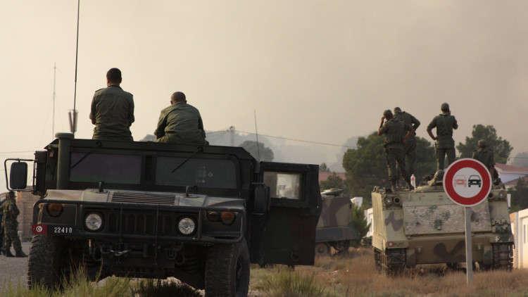 مقتل عسكري تونسي باشتباكات وسط غربي البلاد