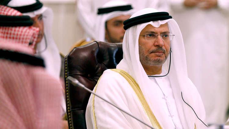 قرقاش: العالم العربي ارتكب أخطاء استراتيجية بشأن سوريا