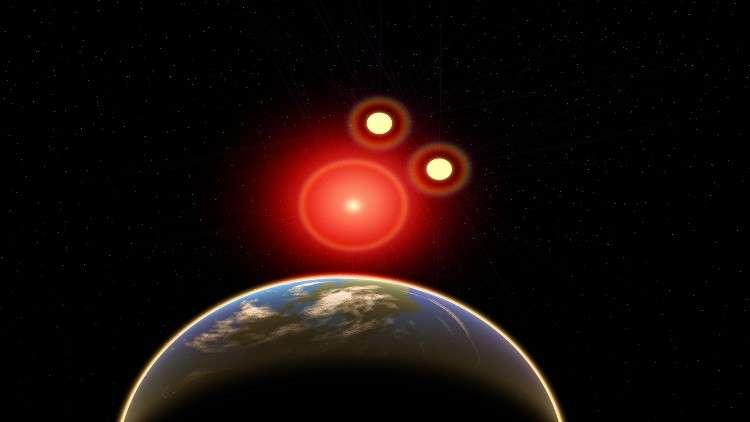 انفجار نجمي فائق ربما قضى على أشكال الحياة في