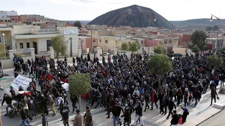 محكمة مغربية تدين نشطاء على خلفية حراك جرادة شرق البلاد