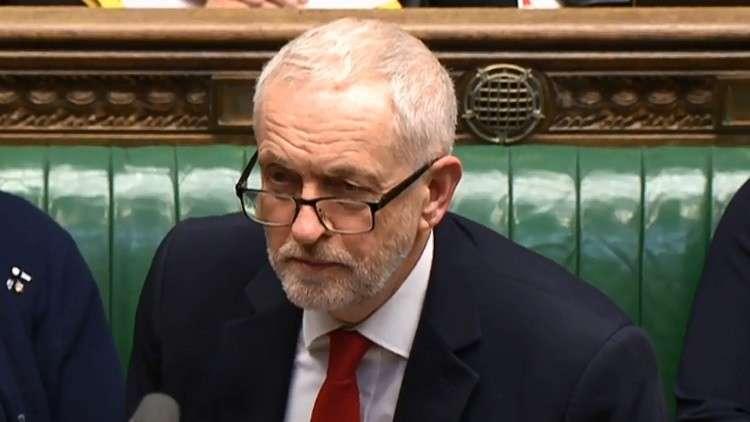 زعيم المعارضة البريطانية: أي عمل عسكري ضد سوريا يتطلب موافقة البرلمان