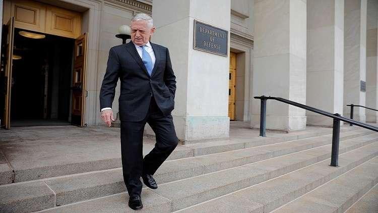 وزير الدفاع الأمريكي يصل البيت الأبيض للقاء ترامب باجتماع غير مجدول (صورة)