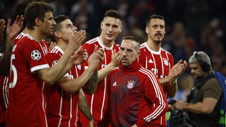 بايرن ميونيخ يحجز مقعده في نصف نهائي أبطال أوروبا