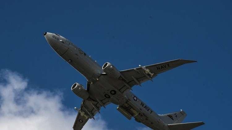 ثالث طائرة أمريكية تتجسس اليوم على القواعد الروسية في سوريا